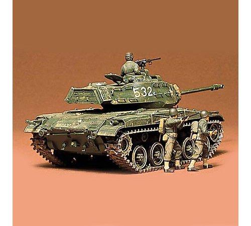 TAMIYA 35055 1:35 US Panzer M41 Walker Bulldog (3), Modellbausatz,Plastikbausatz, Bausatz zum Zusammenbauen, detaillierte Nachbildung