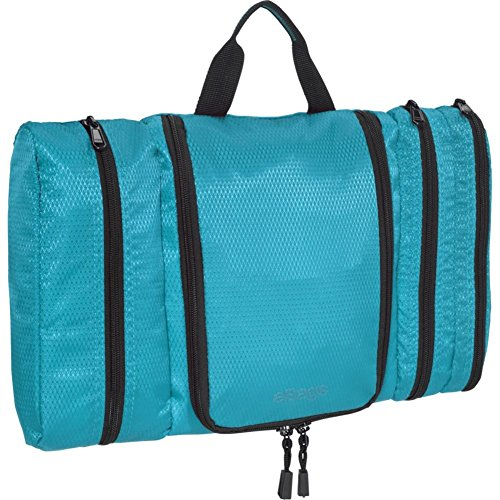 eBags Classic Pack-it-Flat Toiletry Kit (Aquamarine)