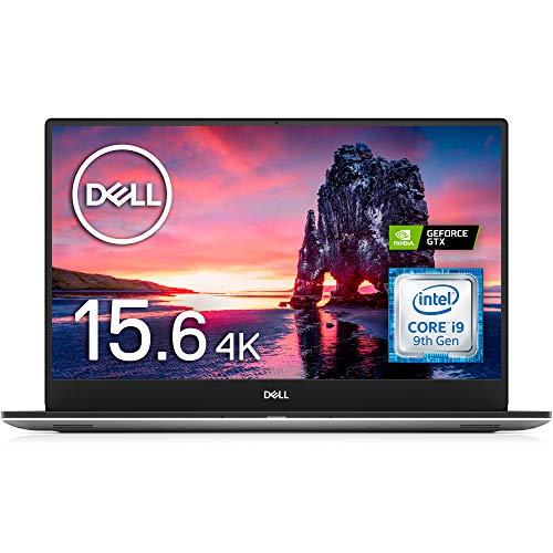 Dell ノートパソコン XPS 15 7590 Core i9 シルバー 20Q32/Win10/15.6 4Kタッチ/32GB/1TB SSD/GTX 1650/Wi-...