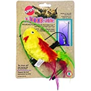 Ethical A-Door-Able Plush Bird Cat Toy with Feathers