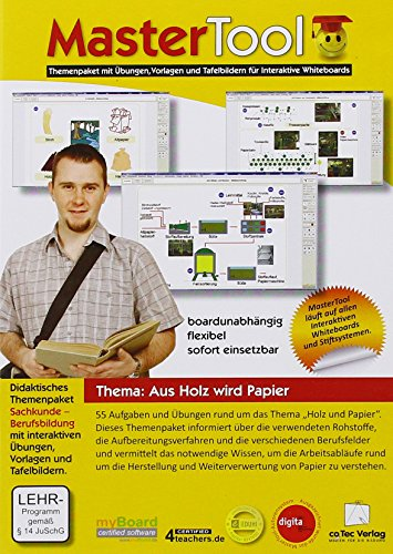 MasterTool Themenpaket: Sachkunde - Aus Holz wird Papier (PC+Linux)