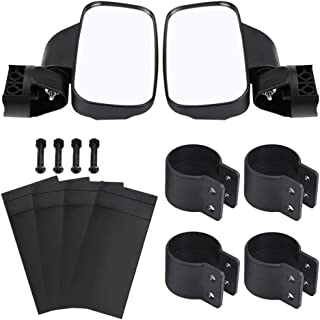 WOOSTAR 17 Rearview Mirror with 1.75 Clamp for UTV Polaris RZR 800 1000 S 900