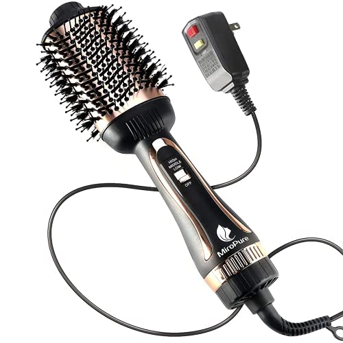 Hair Dryer Brush,Hot Air Brush,Blow Dryer Brush for Women One-Step Hair Styling Tools & Appliances 1000W with Leakage Protector, Professional Salon Negative Ion Anti-Frizz, Hair Brush Blow Dryer