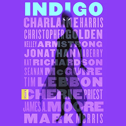 Indigo audiobook cover art
