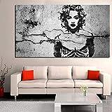 Muwill Leinwanddruck Wall Art, Größe Classic Madonna Pop