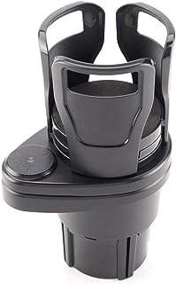 USNASLM Car Dual Cup Holder Adjustable Sunglasses Phone Stand Organizer Drinking Water Bottle Holder Bracket Auto Accessories
