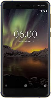 Nokia 6.1 Ta-1050 32Gb Blue (Renewed)