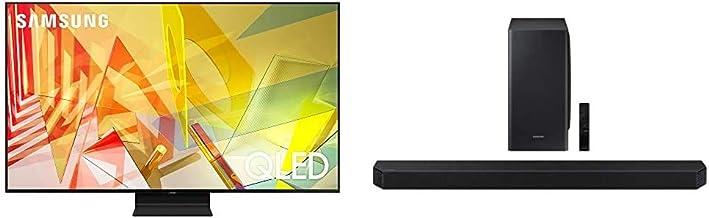 SAMSUNG 75-inch Class QLED Q90T Series - 4K UHD 16X Smart TV with Alexa Built-in (QN75Q90TAFXZA, 2020 Model) + HW-Q900T 7....