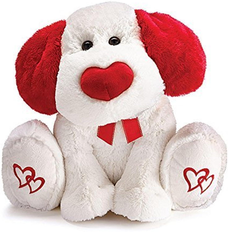 uomony Plush Valentine's Day Pup 19 by Burton & Burton