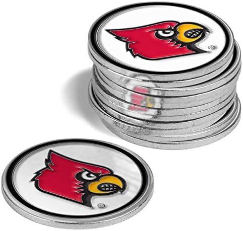 Popular popular LinksWalker Outstanding Louisville Cardinals - 12 Ball Markers Pack