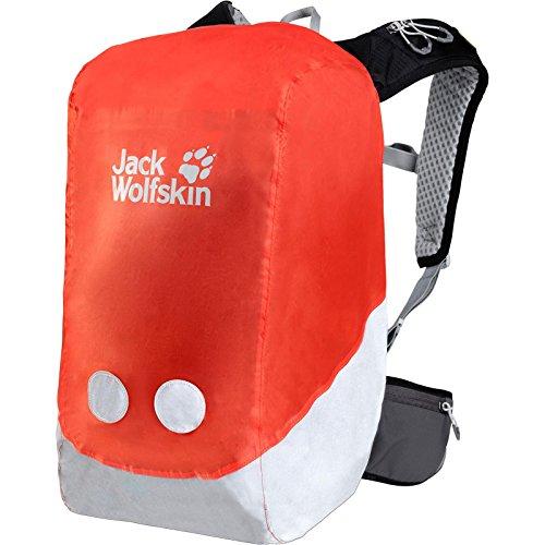 Jack Wolfskin Kids Raincover Safety 18-26L, Lava orange