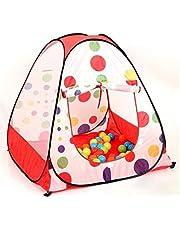 خيمة أطفال مع 100 كرات ملونة بلاستيكية مناسبة لي 3 أطفال