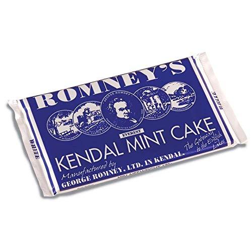 Romney's of Kendal - KENDAL MINT CAKE White bar (LARGE) 170g/5.98oz