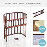 babybay Bassinet Classic Comfort Bundles in Deep Walnut