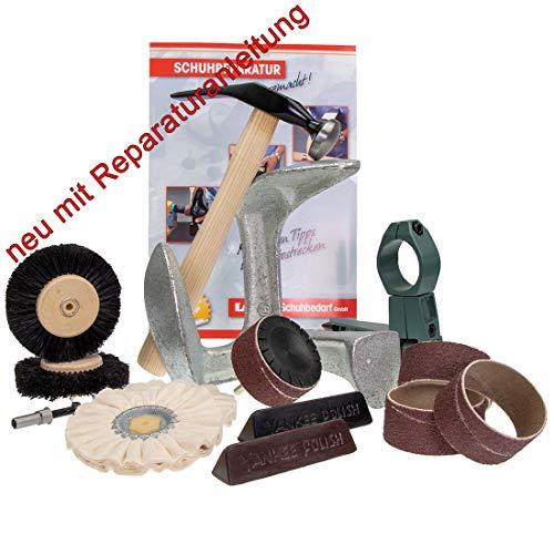 Die kleine Schuhmacherwerkstatt von Langlauf Schuhbedarf mit Reparaturanleitung - Schuhe reparieren wie die Profis