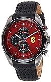Scuderia Ferrari Reloj Analógico para Hombre de Cuarzo con Correa en Cuero 0830650
