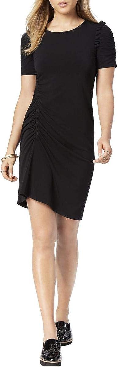 Bar III Women's Ruched A-Line Dress