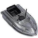 Tanti 500M RC Fischerei Köder Boot 1,5KG Beladung, Futterboot mit Fernsteuerung, Ferngesteuertes Boot zum Angeln(Schwarz)