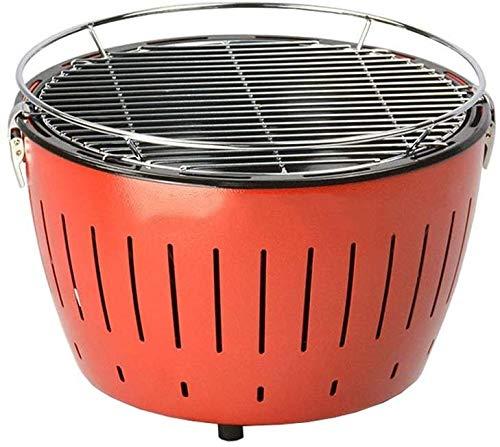 JFZCBXD Brazier Feuerstelle Multifunktionsgrillrost Innen-Winter Kohleheizung Außen Herd Haushalt Smokeless Carbon-Brazier Edelstahl Grill