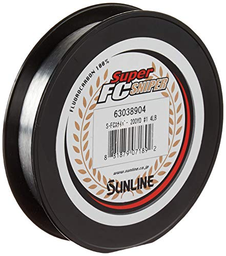 Sunline Super FC Sniper Fluorocarbon Fishing Line (Natural...