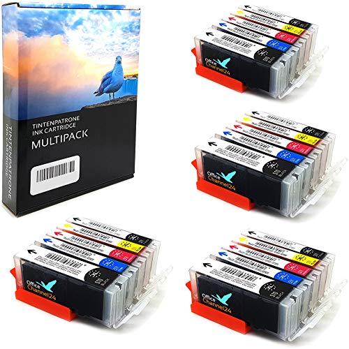 20 XL Office Channel24 Kompatible Patronen Ersatz für Canon PIXMA TS6050 TS6051 TS6052 TS5050 TS5051 TS5053 TS5055 TS8050 TS8051 TS8052 TS8053 TS9050 TS9055 MG5750 MG5751 MG5752 MG5753 MG6850 MG6851 MG6852 MG6853 MG7750 MG7751 MG7752 MG7753 kompatibel zu Canon 570 571 PGI570xl CLI571xl