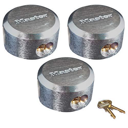 Master Lock Hidden Shackle Locks Keyed Alike 6271KA-3
