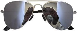 Stainless Steel Frame Pilot Kids Children Sunglasses