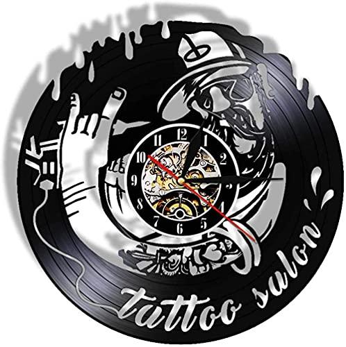 Arte de Tatuaje Retro Máquina de Tatuaje Decoración de...
