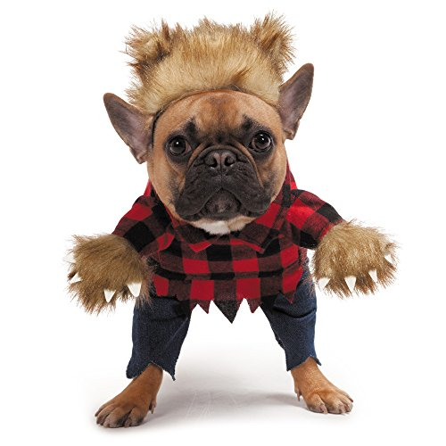 Zack & Zoey Werewolf Costume for Dogs, Medium