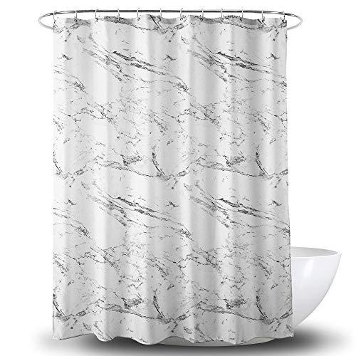SONGHJ Dickem Polyester Duschvorhang Marmor Muster Wasserdicht Und Mehltau Vorhang Haushalt Hotel Einfache Partition Vorhang