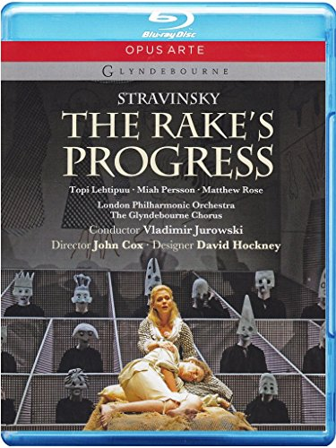 Igor Strawinsky - The Rake's Progress [Blu-ray]