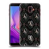 Head Case Designs Oficial Anne Stokes Pátron De Rosa Ángeles Carcasa rígida Compatible con Samsung Galaxy J6 Plus (2018)