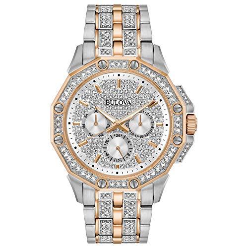 bulova women crystal watch - 3