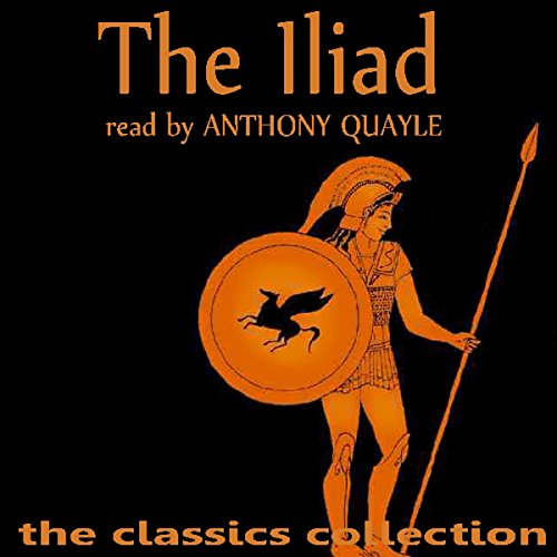 The Iliad                   By:                                                                                                                                 Homer                               Narrated by:                                                                                                                                 Anthony Quayle                      Length: 57 mins     3 ratings     Overall 3.3