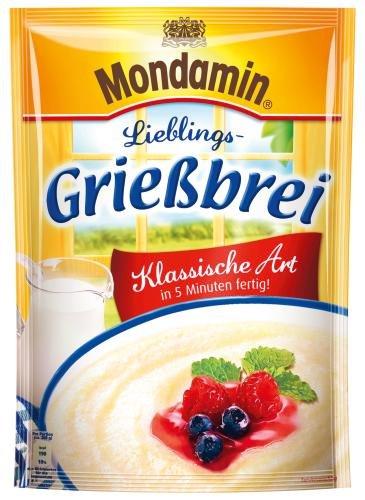 Mondamin Grießbrei, 8er Pack (8 x 89 POR Beutel)