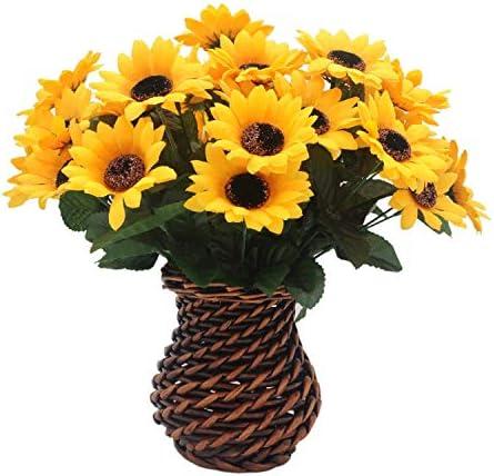Centros de mesa con flores artificiales _image3