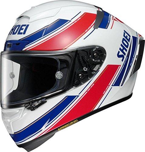 ショウエイ(SHOEI) バイクヘルメット フルフェイス X-Fourteen LAWSON(ローソン) TC-1(RED/WHITE) XL (61~62cm) -