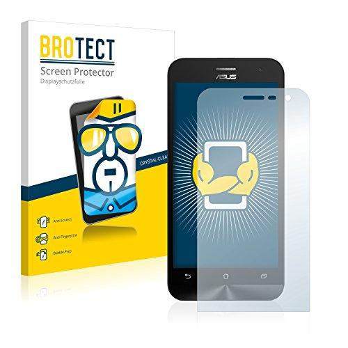 BROTECT Schutzfolie kompatibel mit Asus ZenFone 2 ZE500CL (2 Stück) klare Bildschirmschutz-Folie