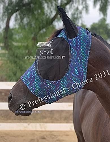 Professional's Choice Comfort Fit Fliegenmaske Dragon (Horse (Full/Warmblut))