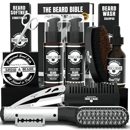 Beard Straightener Grooming Kit for Men