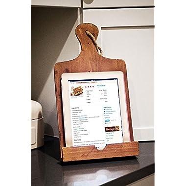 Wooden Vertical Cook Book Holder