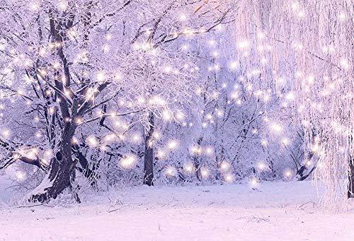 Fondos Cumpleaños Boda Fantasía Brillo Estrella Lunares Luz Bokeh Amor Fotografía Fondo Estudio fotográfico Photocall A2 9x6ft / 2.7x1.8m