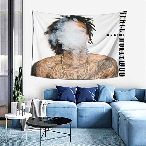 VirgieBSmith Wi-z KHA-LIFA Blacc Hollywood Wall Tapesty Hanging Mystic Tapestry,Multipurpose Tapestry,Tapestries