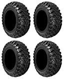 Full set of GBC Kanati Mongrel (10ply) DOT 27x9-14 and 27x11-14 ATV Tires