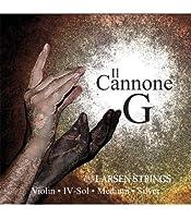 LARSEN Il CONNONE Cuerda 4ェ G (Sol) Medium Violin Plata