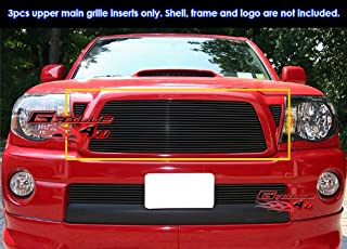 APS Compatible with 05-2010 Toyota Tacoma Black Main Upper Billet Grille Insert Insert T85460H