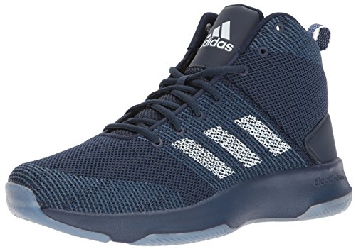 adidas NEO Men's CF Executor Mid Basketball-Shoes, COLLEGIATE NAVY/WHITE/MYSTERY BLUE, 10 Medium US