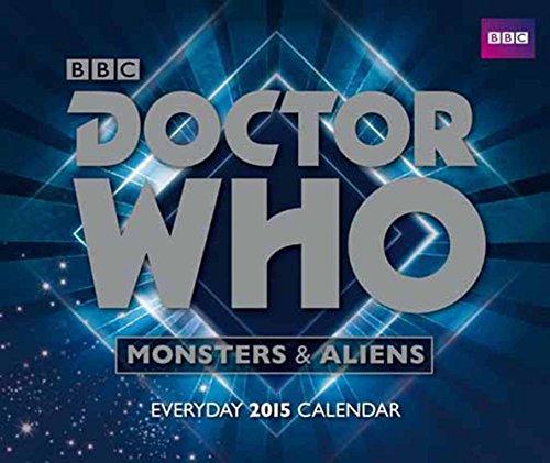 Official Doctor Who Desk Block Calendar 2015