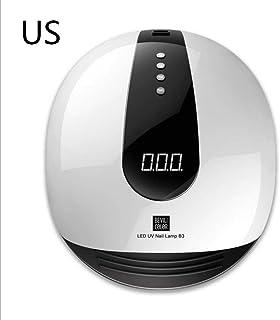 SAILUN ネイルドライヤー ネイルセンサーライト LEDUVランプ ネイル塗装 LED UVジェル/ジェネレーター/LEDジェルの乾燥に適用 80W4タイマー設定 動的赤外線センサーシステム 操作が簡単 低発熱量 二重光源(365 + 405nm)