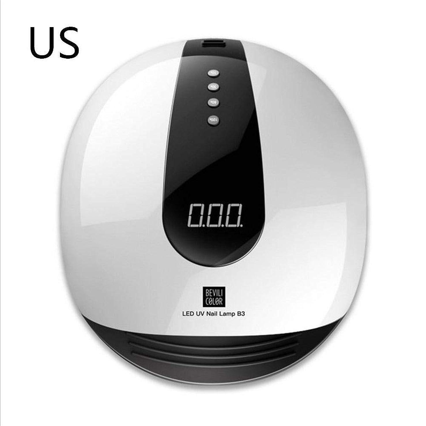 戻る靴無能SAILUN ネイルドライヤー ネイルセンサーライト LEDUVランプ ネイル塗装 LED UVジェル/ジェネレーター/LEDジェルの乾燥に適用 80W4タイマー設定 動的赤外線センサーシステム 操作が簡単 低発熱量 二重光源(365 + 405nm)